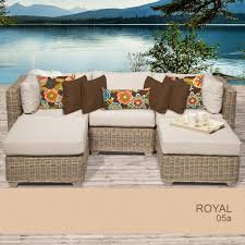 Wicker Patio Furniture Sears by Outdoor Patio Wicker Furniture Set