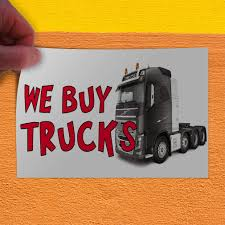 100 We Buy Trucks Amazoncom Decal Sticker 1 Business Vehicle Outdoor