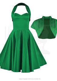 Free Delivery 50s Halter Swing Dress Set