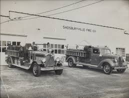 100 First Fire Truck Sadsburyville Company No 1