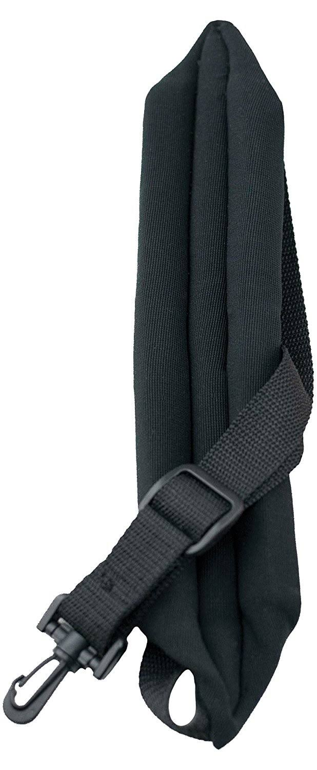 Perris Black Saxaphone Strap - With Padding
