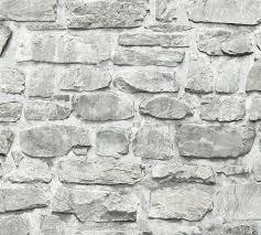 selbstklebende tapete steinwand grau panel 368461