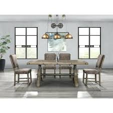 Bench Style Dining Room Sets Work Table Tables