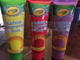 Crayola Bathtub Fingerpaint Soap Non Toxic by New Set Of 3 Super Sized Crayola Bathtub Fingerpaint
