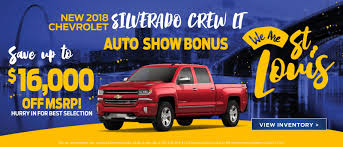 Lou Fusz Chevrolet In Saint Peters | St. Louis Chevrolet Source