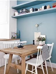 small light wood farm table white chairs h o m e inspo