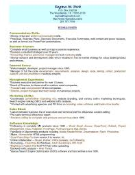 Business Acumen Resume Examples