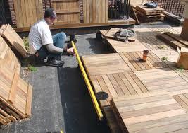 rooftop patio flooring pinkax