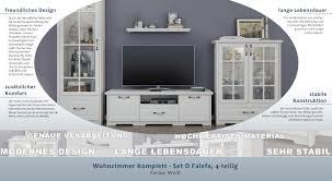 möbel wohnaccessoires wohnzimmer komplett set d falefa