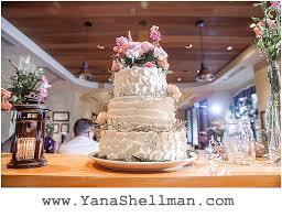 Rustic Wedding Cake At Talulas Garden By Philadelphia Photographer