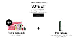 Clinique 30% Off + Free 6 Pc Gift W/ $65 And Free Full Size ... 25 Off Staples Coupon Codes Black Friday Deals Coupon Take 20 Off Online Orders Of 75 Clark Stateline Jeep Coupons Ubereats 50 Promo Code Chennai Hit E Cigs Racing The Planet Discount Coupons Code Promo Up To Dec19 Wayfair 10 First Time Order Expires 113019 Staples Coupon 15 Liphone Order Expires 497 1 Mimeqiv3559562497chtm Definitive Materials Hp Instant Ink Ncours Natrel