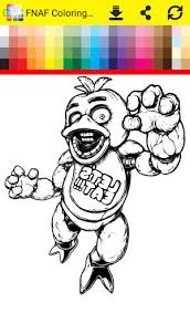 Coloring Book Five Nights Apk Download From MoboPlay