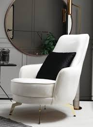 casa padrino luxus wohnzimmer sessel weiß gold 57 x 78 x h 96 cm wohnzimmer möbel luxus möbel
