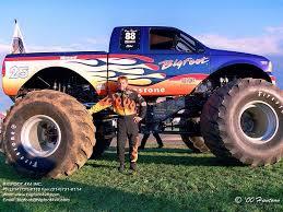 100 Bigfoot The Monster Truck Dan Runte And ChromaLusion 14 BIGFOOT Racing Team