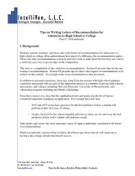 Job Letter Of Recommendation Reference Letter Sample Reference