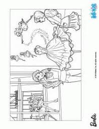 Barbie Fashion Fairytale Coloring Pages Printable Home