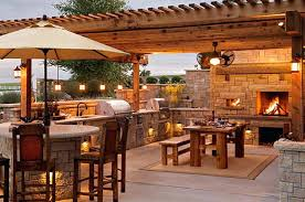 outdoor kitchen task lighting lighting design ideas
