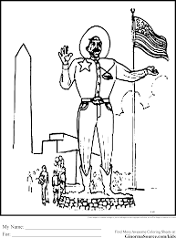 Big Tex Coloring Pages