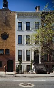 100 Townhouse Facades Smart New York City Renovation Breezy Modern Design