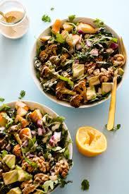 cuisine detox sweetgreeny detox salad with detox tahini dressing flora vino