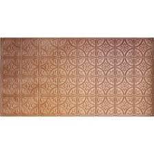 24x24 Pvc Ceiling Tiles by Antyx Antique Copper Patina 24x24
