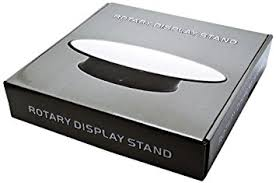 Rotary Rotating Mirror Top Display Stand