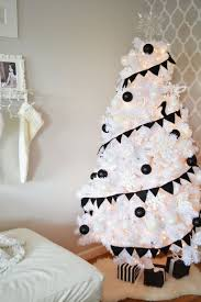 Wonderful Black And White Christmas Tree Decorations For A Amp Little Inspiration
