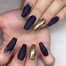 Black And Gold Nail Art Designs Gallery With Black Gold