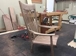 Sam Maloof Rocking Chair Video by Sam Maloof Rocking Chair The Sonoran Woodshop The Sonoran Woodshop
