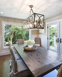 Modern Rectangular Crystal Chandelier Dining Room Fresh Hanging A At The
