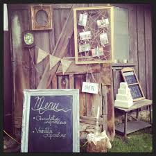 Soothing Vintage Wedding Decorations With Table Barn Door Decoratedvintage S
