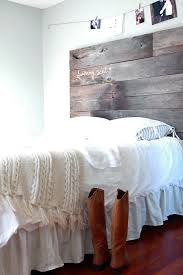 Headboard Designs For Bed by Diy Project Salvaged Barnwood Headboard U2013 Design Sponge