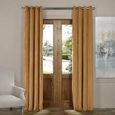 Patio Door Curtains Grommet Top by Curtains U0026 Drapes Window Treatments The Home Depot