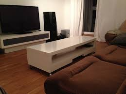 Ikea Lack Sofa Table by Verlockend Standing Desk Hack From Lack Tv Unit Ikea Lack Tv Stand