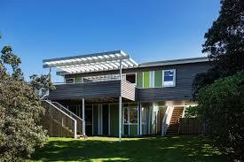 100 Parsonson Architects Renovation Of Field Way Bach House In Waikanae New Zealand