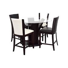 82 OFF Raymour Flanigan Black And Ashby Dining Set