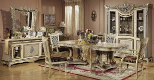Luxurious Classic Dining Room Furniture Sets Decoration Ideas