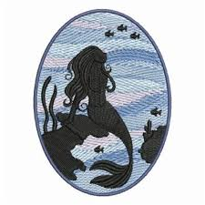 Mermaid & Fish Embroidery Designs Machine Embroidery Designs at