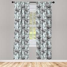 gardine fensterbehandlungen 2 panel set für wohnzimmer schlafzimmer dekor abakuhaus shabby chic teich wasser blumen kaufen otto