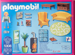 playmobil 5308 wohnzimmer für puppenhaus