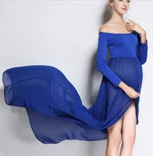 popular blue maternity dress baby shower buy cheap blue maternity