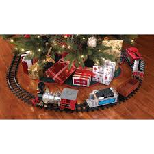 Blue Hat North Pole Junction Christmas Battery Operated Train Set