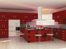 Kitchen Modern Cabinets Colors Best Colors For Modular Kitchen Endearing L Model Red Modern
