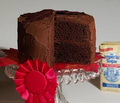 Chocolate Cake with Chocolate Buttercream Frosting recipe Choctoberfest with Imperial Sugar