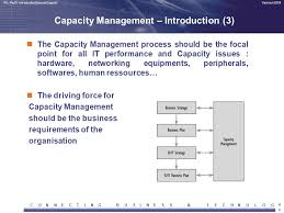 Infrastructure Capacity Planning Template C O N E T I G B U S Amp H L Y