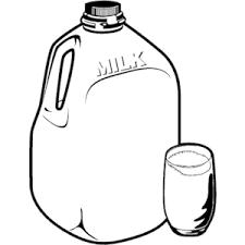 Milk Gallon Cliparts