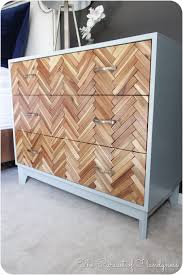 Tool Box Dresser Diy by Diy Herringbone Dresser Completly From Scratch This Might Just