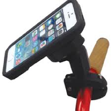 Panavise BarGrip Phone Mount with Rokform iPhone 6 6S Case