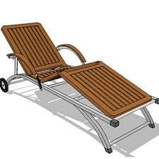 SL 281 Lounger 3D Model