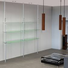 Floor To Ceiling Tension Pole Room Divider by Tension Pole Shelving Unit Subastral